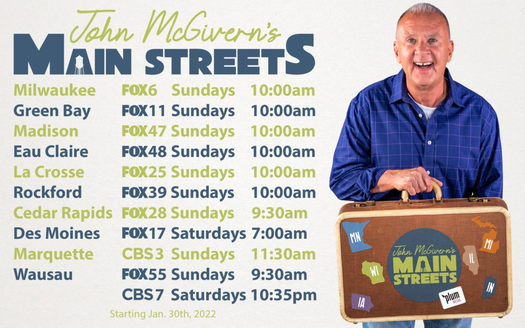 """""""John McGivern's Main Streets"""" announces debut and initial television network partners"""